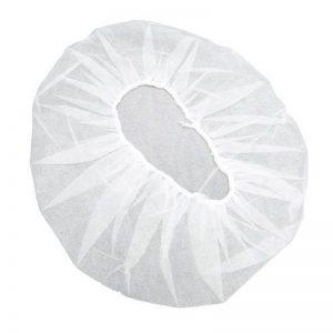 חבילת 100 כיסויי ראש חד פעמיים