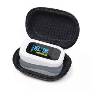 פולסאוקסימטר אצבע, pulse oximeter, מד חמצן ודופק, מד ריווי חמצן בדם